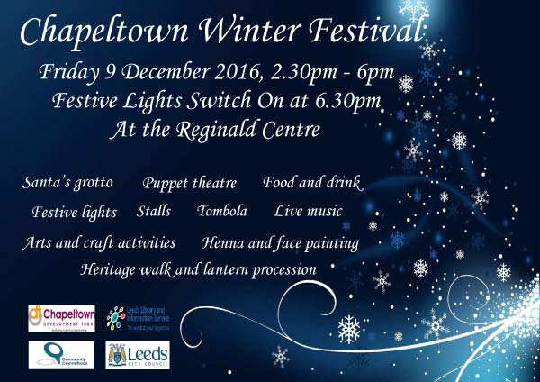 Chapeltown Winter Festival poster